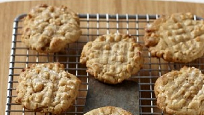 Biskota me gjalpë kikirikësh