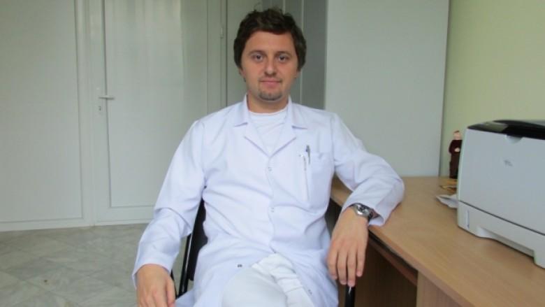 Dr. Dëfrim Koçinaj, kirurg pediatrik