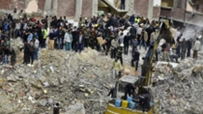 Egjipt, shembet ndërtesa, 25 të vdekur