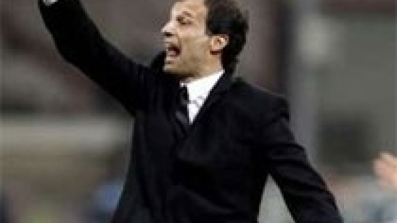 Allegri i bindur për top tresh