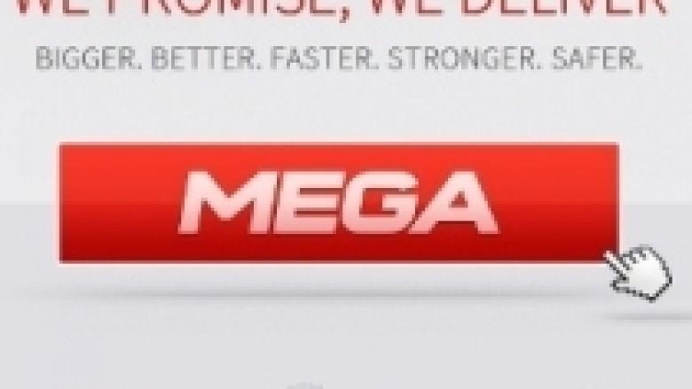 Faqja e re e Dotcom, Mega regjistron 1 milion përdoruesit e parë