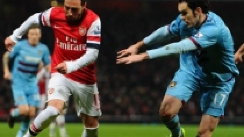 Arsenali tregon muskujt