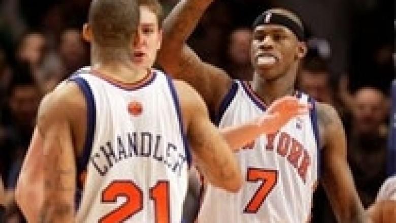 Knicks shkelmojnë Lakers, më të vlefshmit në NBA