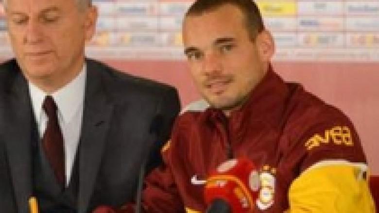 Sneijder: Turqia, shtëpia ime