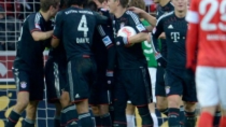 Bayerni, stërvitje në Mainz