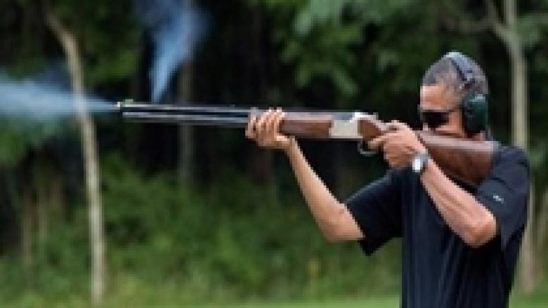 Obama shtie me armë