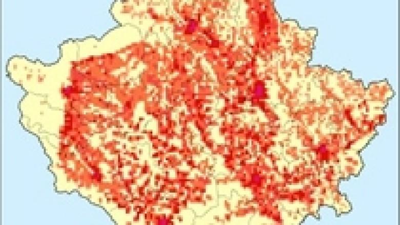 Harta e Kosovës zgjidhet 'harta e muajt' nga Eurostat