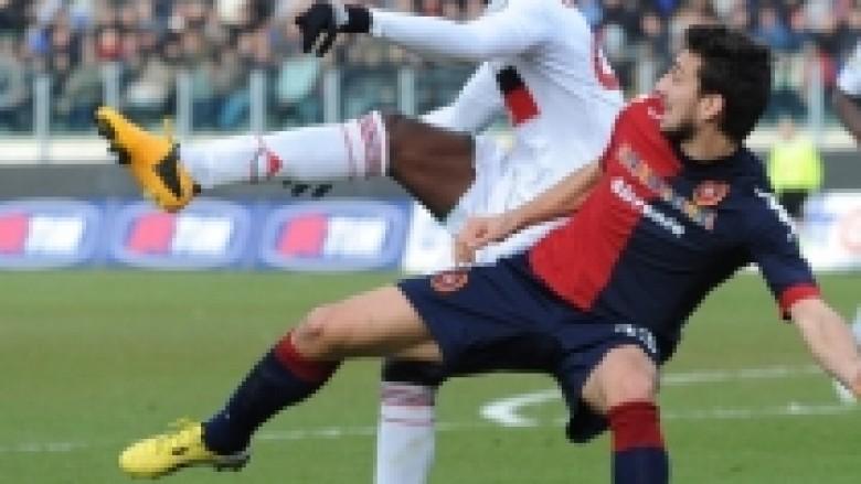 Cagliari ndal euforinë e Rossonerëve