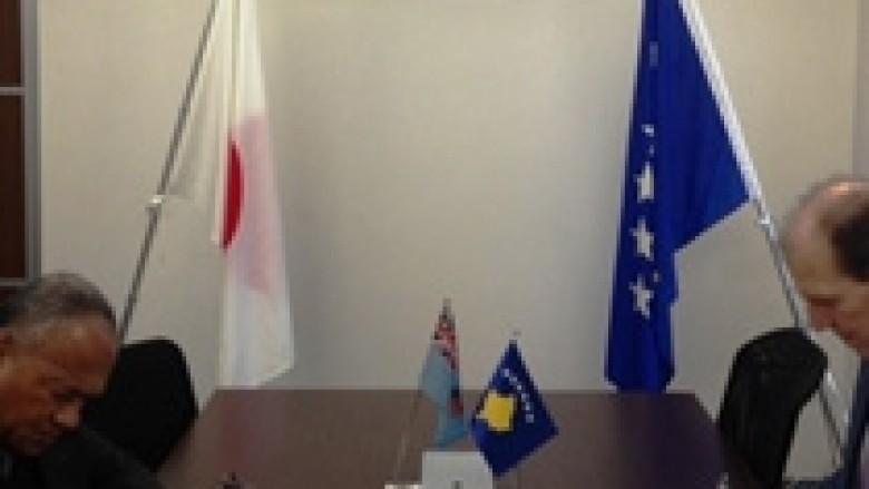 Kosova vendos marrëdhëniet diplomatike me Republikën e Fixhit