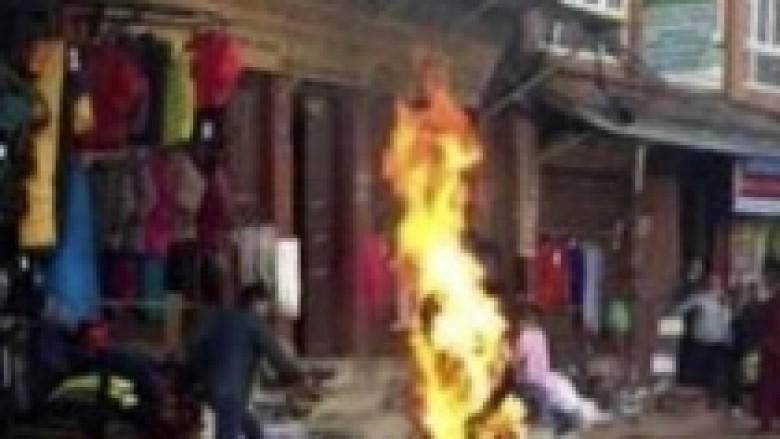 Vetëdigjet tibetiani, kundërshton sundimin kinez