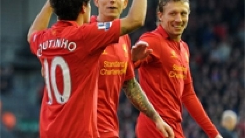 Liverpooli shkel mbi Swansean