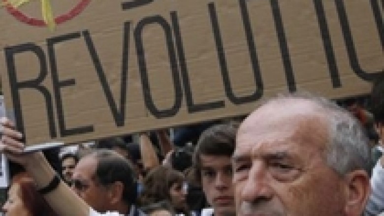 Protesta në 16 qytete të Spanjës