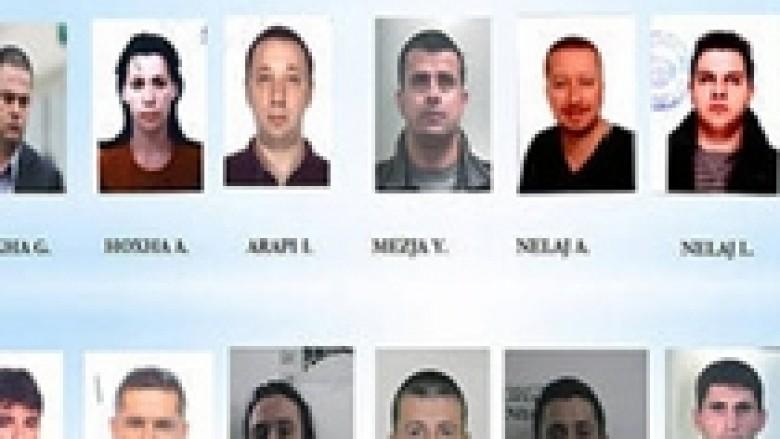 Itali, prangosen 16 shqiptarë për drogë e prostitucion