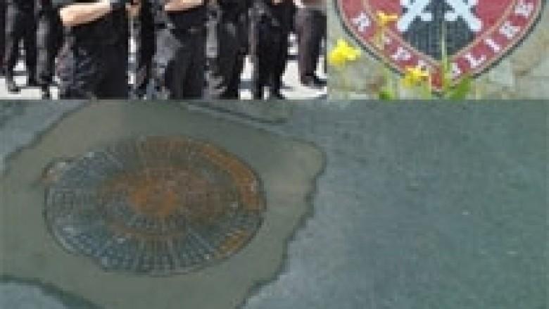 Shqipëri, gardisti kapet duke vjedhur kapak pusete (Video)