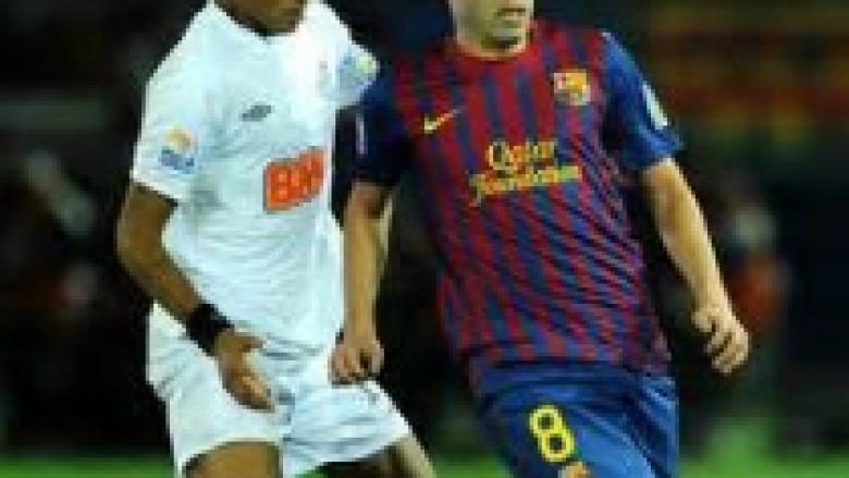 Iniesta: Neymar është talent i pastër