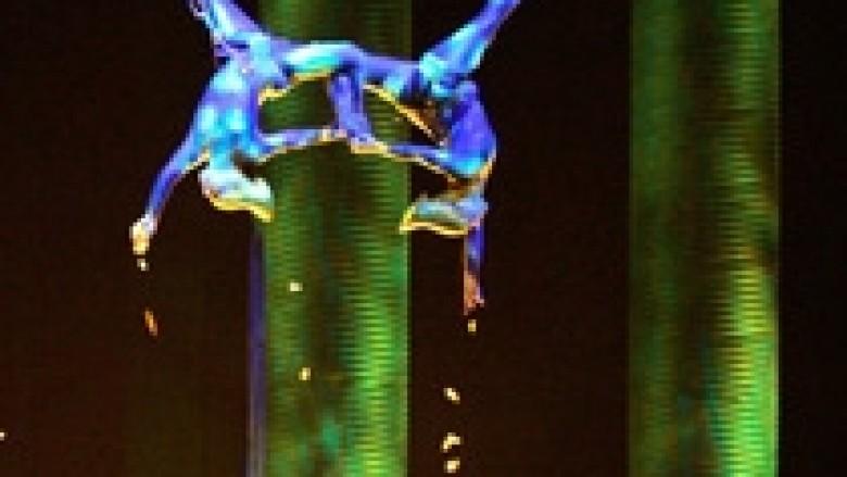Vdes akrobatja e Cirkut të Diellit, ra në skenë nga 15 metra lartësi