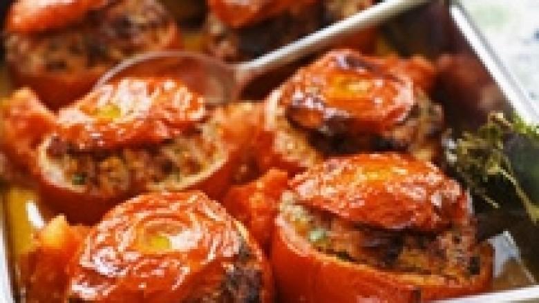 Gjellë me domate