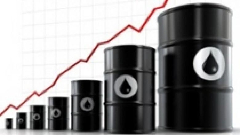 Nafta vazhdon me rritje te lehtë