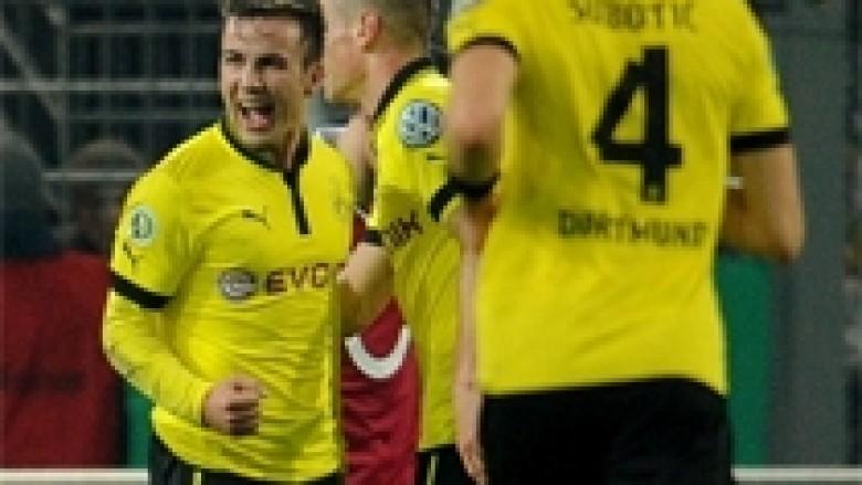 Dortmundi, Stuttgarti e Wolfsburgu në çerekfinale