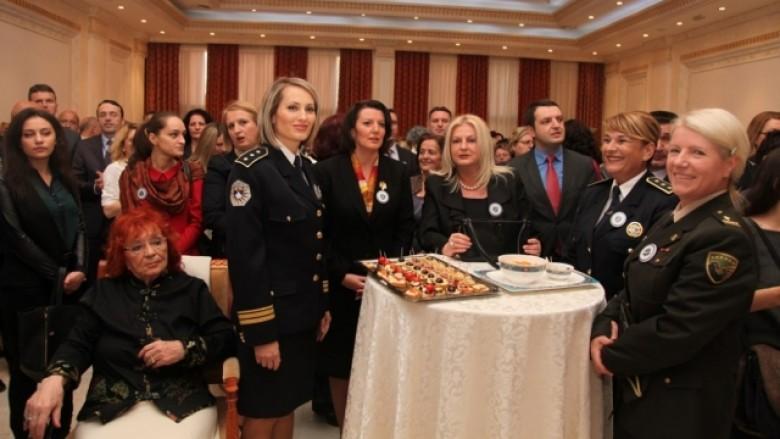 Jahjaga: Pjesëmarrja e grave në Polici, tejet e rëndësishme
