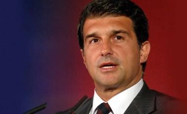 Laporta godet drejtuesit e Barcës: Mos i çoni poshtë vitet e mbetuar të Messit