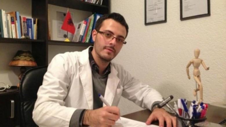 Arben Boshnjaku, MSc Pt, MSc Sport Sci. –  Fizioterapeut