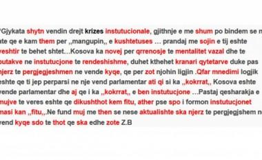 Sa gabime drejtshkrimore i bën Zafiri, në një postim!