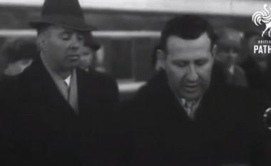 Vizita e Enver Hoxhës dhe Mehmet Shehut në Moskë (Video)