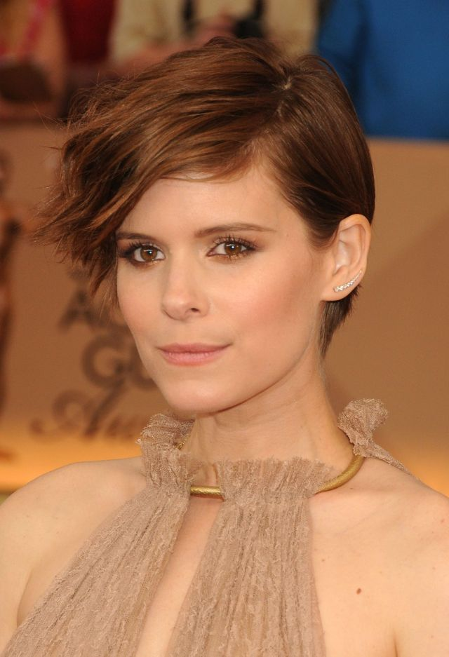 30 January 2016 - Los Angeles, California - Kate Mara. 22nd Annual Screen Actors Guild Awards held at The Shrine Auditorium. Photo Credit: Byron Purvis/AdMedia *** Please Use Credit from Credit Field ***, Image: 272812208, License: Rights-managed, Restrictions: *** France OUT ***, Model Release: no, Credit line: Profimedia, SIPA USA