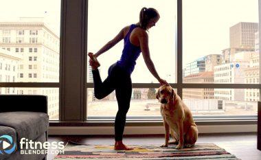 Ushtrime yoga për ngrohje më efikase të muskujve para trajnimeve (video)