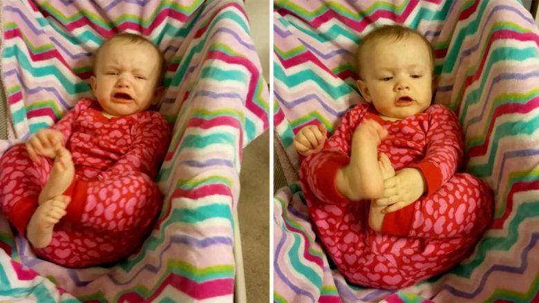 """Si ta pushosh menjëherë fëmijën që qan? Ja """"shpëtimi"""" i një nëne (video)"""