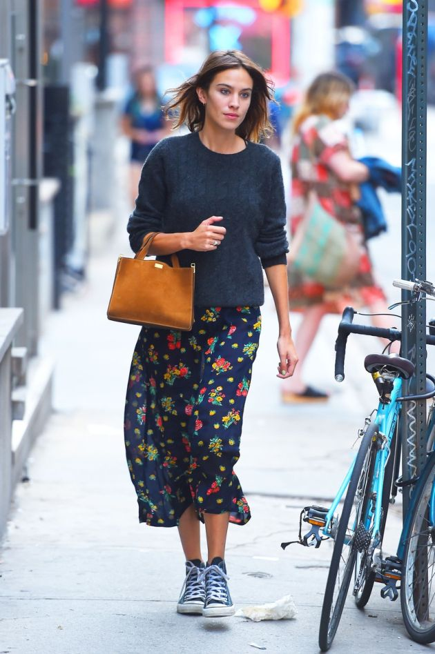 141744, Alexa Chung seen taking a stroll out in SoHo, NYC. New York, New York - Monday August 31, 2015., Image: 256948801, License: Rights-managed, Restrictions: , Model Release: no, Credit line: Profimedia, Pacific coast news