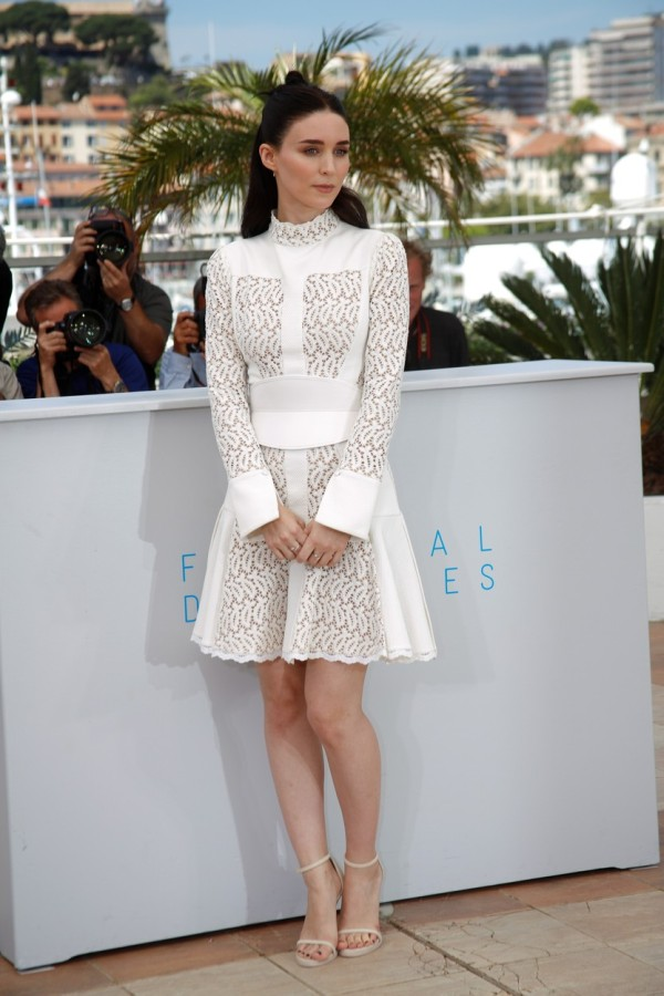 Actress Rooney Mara attends the photocall of Carol at the 68th Annual Cannes Film Festival at Palais des Festivals in Cannes, France, on 17 May 2015. Photo: Hubert Boesl - NO WIRE SERVICE - NO WIRESERVICE-, Image: 245313223, License: Rights-managed, Restrictions: GERMANY OUT, Model Release: no, Credit line: Profimedia, AFP