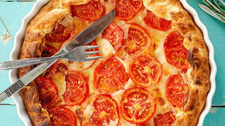 Krostatë me domate