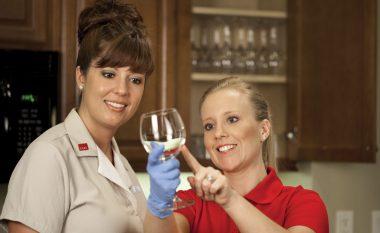 Si të pastrojmë gotat e verës
