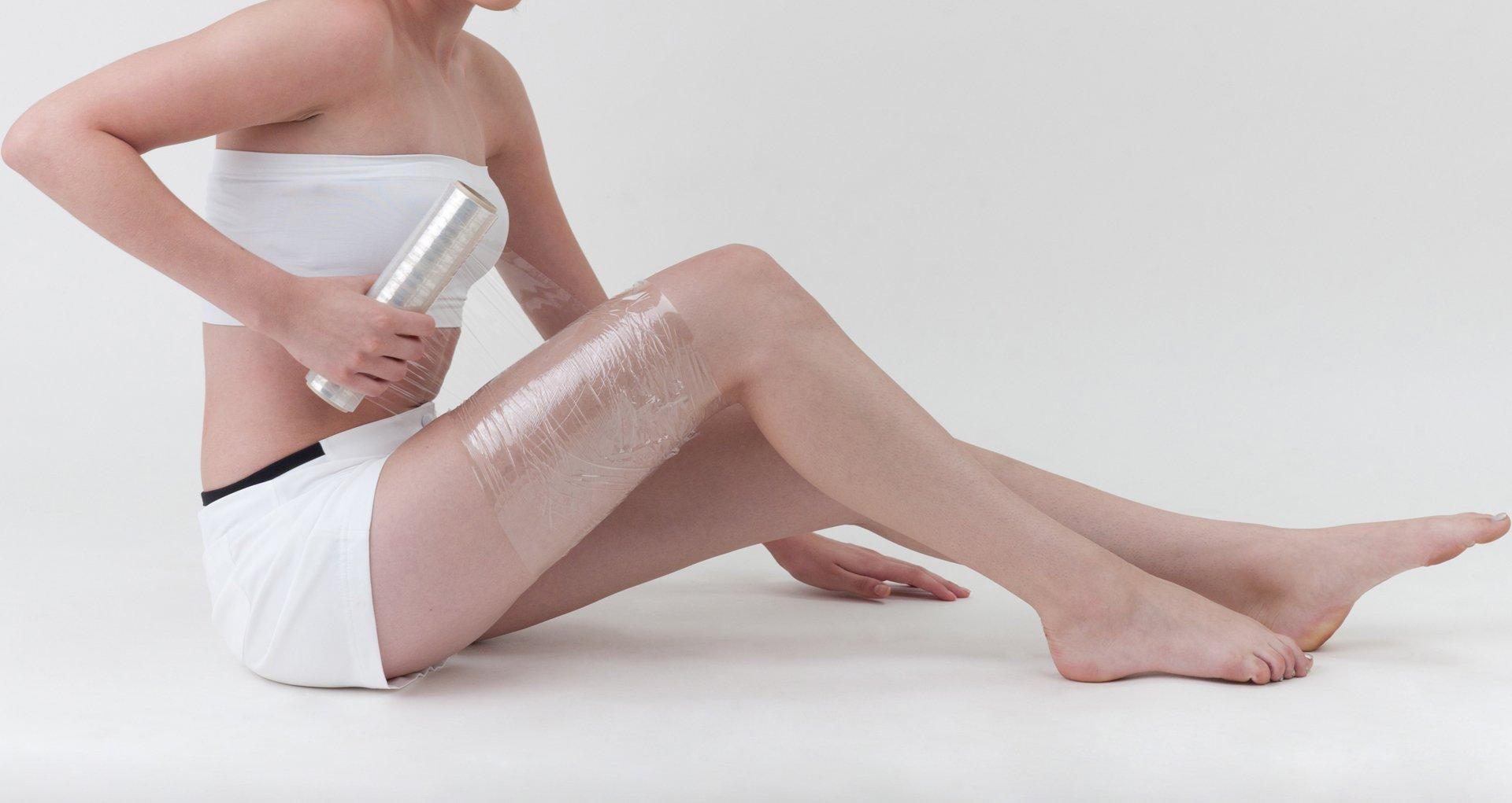 Обертывание в домашних условиях для похудения фото