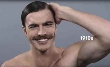 Si kanë ndryshuar standardet e bukurisë mashkullore përgjatë 100 viteve? (Foto/Video)