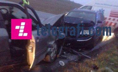 Aksident me të lënduar në magjistralen Ferizaj- Gjilan