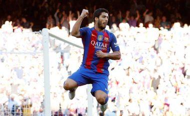 Karriera e Suarez në numra te Barcelona në La Liga
