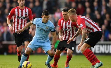 Formacionet zyrtare, Manchester City – Southampton