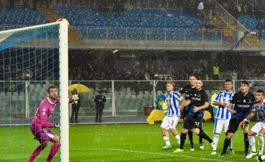 Ndeshja në Serie A ku përballeshin shqiptarët, ndërpritet shkaku i tërmetit (Video)