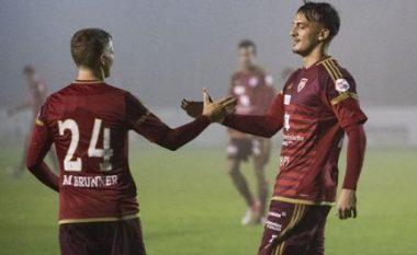 Sulmuesi shqiptar shënon gjashtë gola