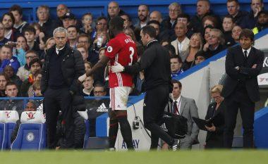 Mourinho 'qanë' mungesën e Baillyt e Jonesit