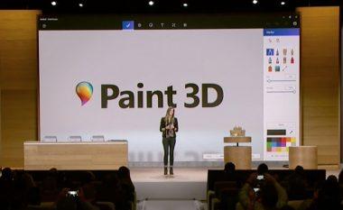 Microsoft sjell Paint 3D, versionin e ri të Paint