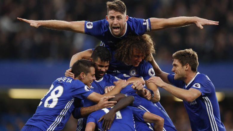 Mourinho turpërohet në Stamford Bridge, Chelsea triumfon me poker golash (Video)