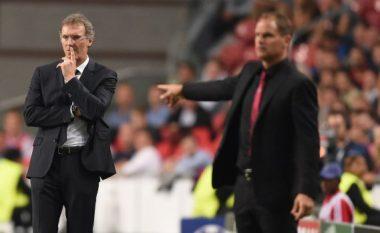 Nuk ka qetësi për De Boer, stafi i Blanc ndoqën ndeshjen me Torinon
