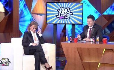 Ermal Mamaqi ja sheh 'LIVE'  në emision gjoksin Albërie Hadërgjonajt! (Video)