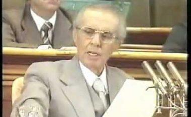 Fjalimi emocionues i Enver Hoxhës për Kosovën (Video)