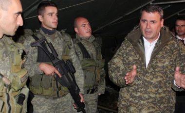 Ministri Demolli vizitoi ushtarët e FSK-së në Nashec të Prizrenit