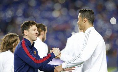 Ronaldo thotë se nuk e ka shok Messin dhe zbulon futbollistin që nuk e ka lënë të marrë frymë në fushë